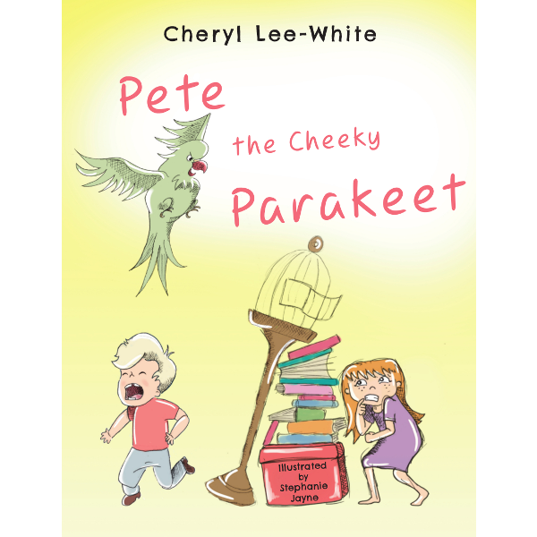 Image result for pete the cheeky parakeet